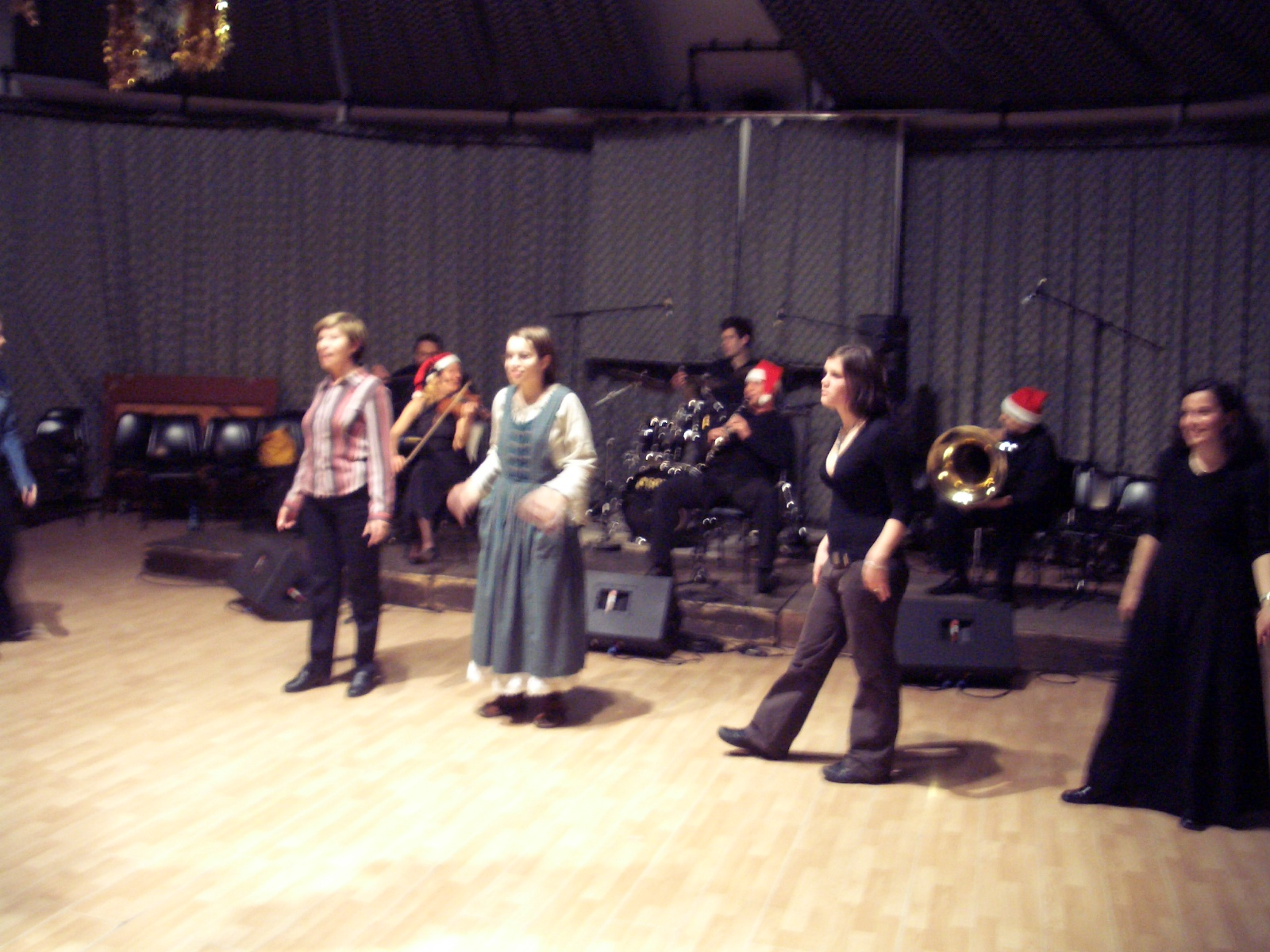 Klezmer dancing in Budapest