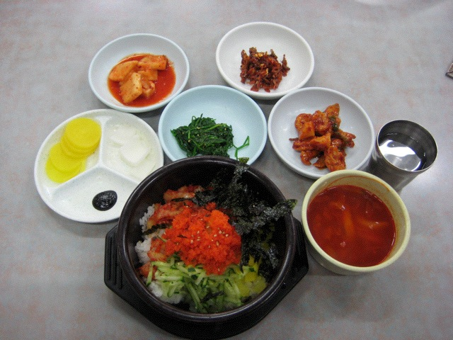 Albap lunch in Busan